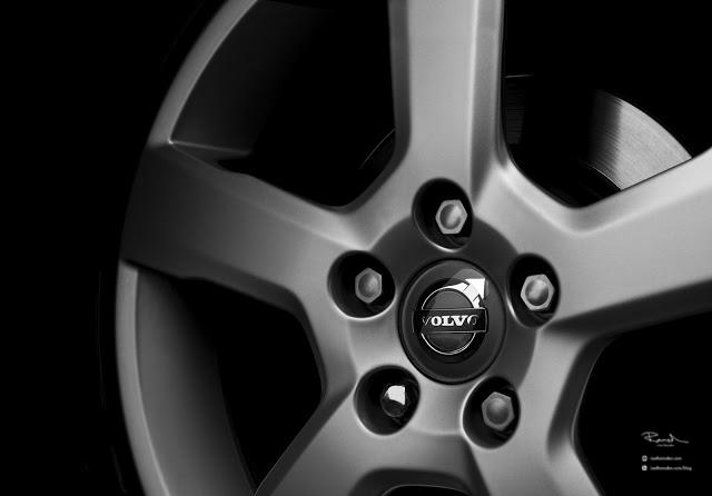 Volvo V50 V60 V70 alloy wheel with disk brake