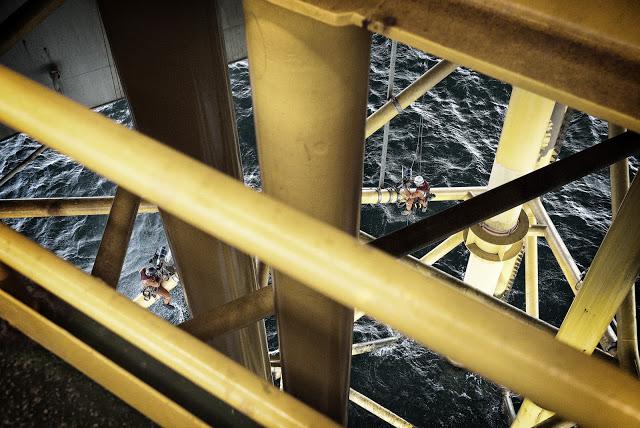 IRATA industrial rope access caspian sea rigg-access Shah deniz