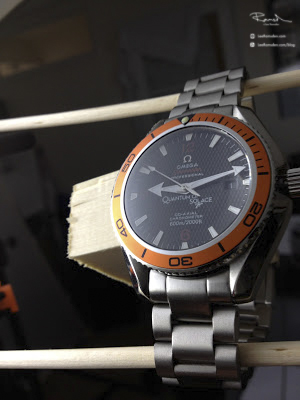 Product photography Omega watch how to create professional looking images