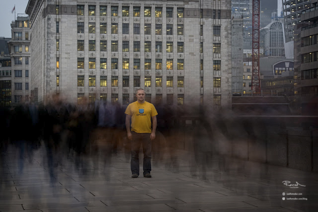 Phil Richardson Yellowmelen long exposure in London