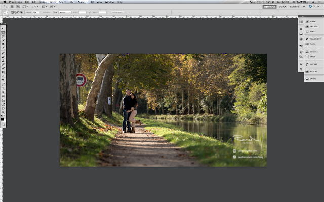 Photoshop tutorial how to add leaves to your image and make them look more professional