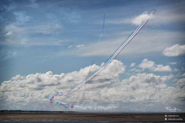 Red Arrows RAF Royal Air Force Southport Air Show Photography Lytham Air Plane Aeroplane