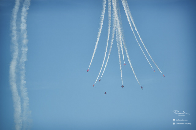 Red Arrows RAF Royal Air Force Air Show Photography Photo