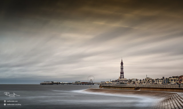 Blackpool Seasside Lancashire Lee Ramsden bad weather long exposure