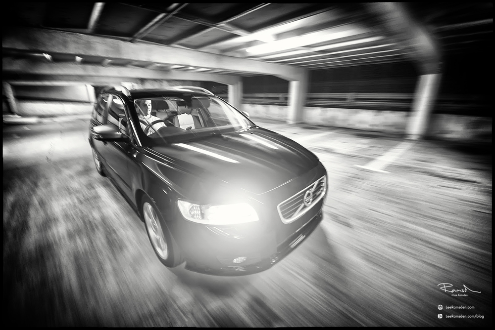 Volvo V50 Car Photography Rig mounting Hague Manfrotto