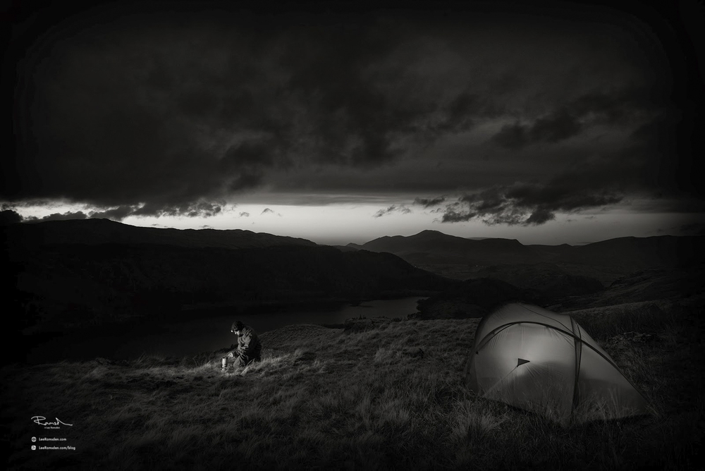 Helvellyn Lake District cold morning Nikon D800 Lee Ramsden Cumbria tent camping night