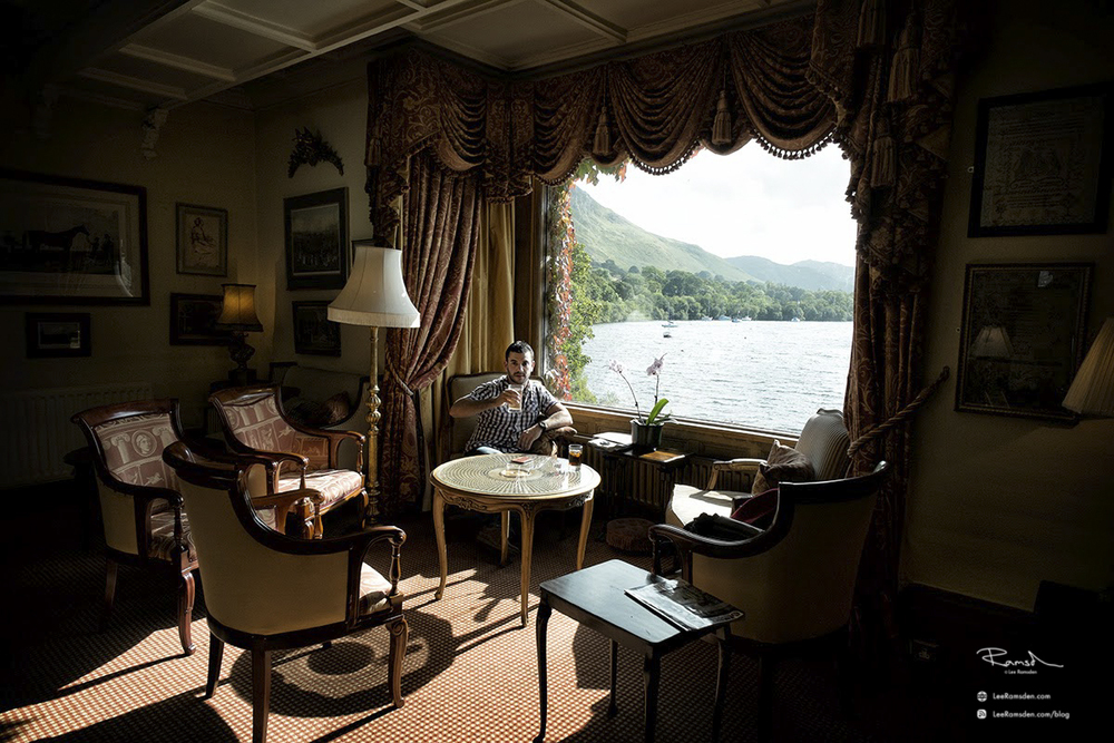 Sharrow Bay Hotel Lake District Lee Ramsden Kelly Moss five star gormet dining luxuary