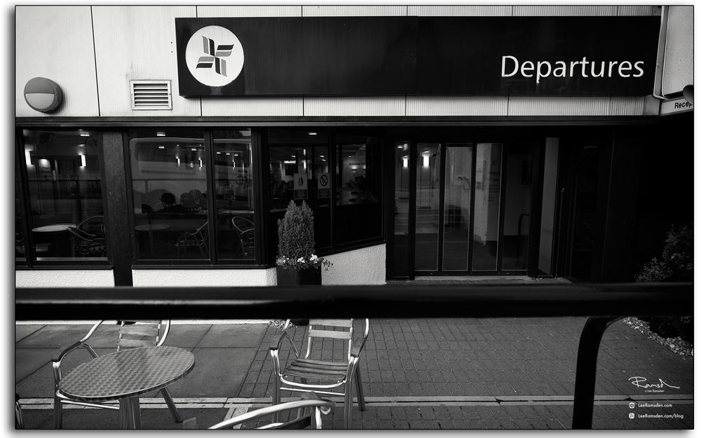 14 Aberdeen airport Bristow Departures