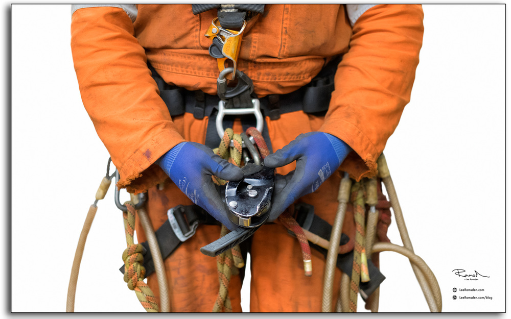 Petzl rig IRATA rope access equipment