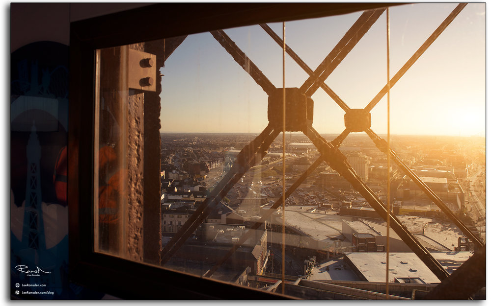 05 Blackpool Tower Lift View photography by Lee Ramsden