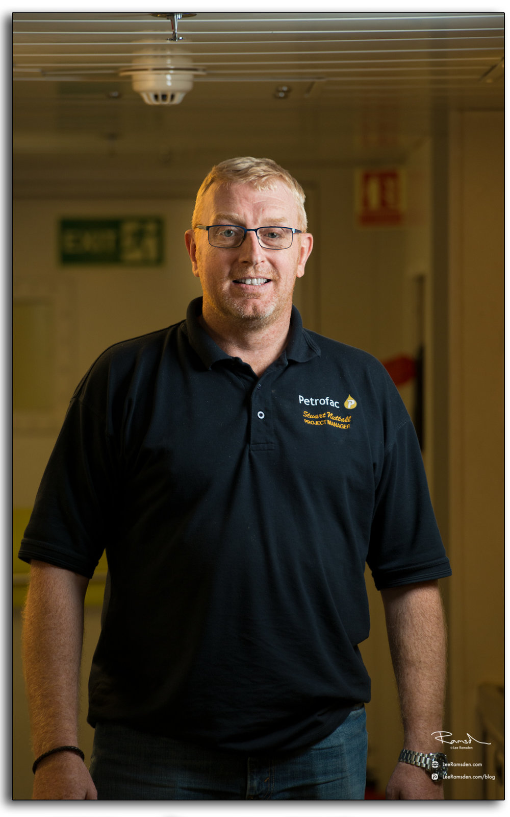 Stuart Nuttall, Petrofac, Project Manager, offshore installation manager, north sea, BP Miller, OIM, decommissioning, photography taken by, Lee Ramsden