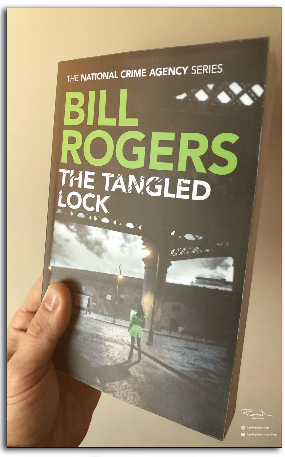 Bill Rogers, the tangled lock, book cover, lee ramsden