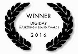 We are proud to announce OPI won the 2016 Digiday digital marketing and brand awards for their campaign featuring our videos.