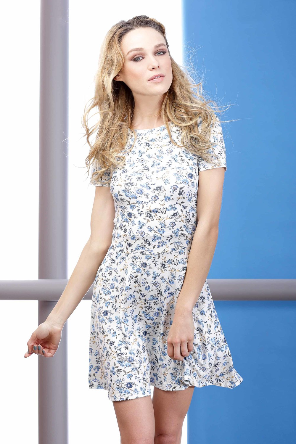 NELRIE FLORAL DRESS