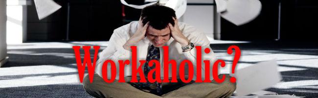 workaholic banner