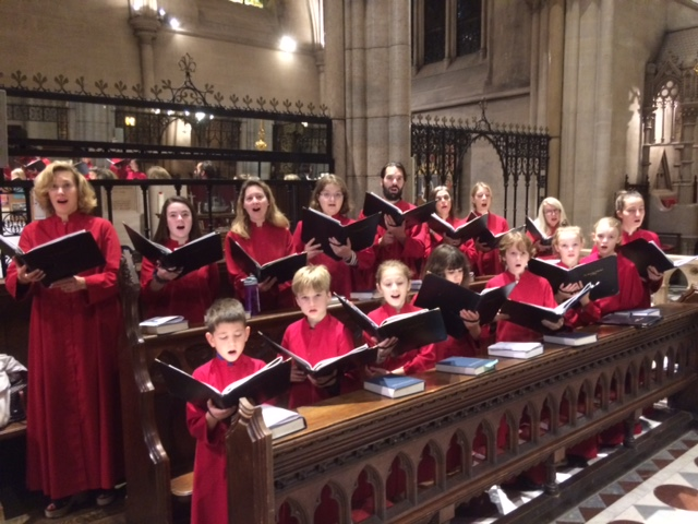 We have some exceptional music planned for Lent, including our March 14 evensong and the March 23 & 24 March Paris Choral Society Concert. -