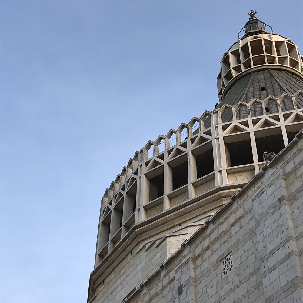Church of the Annunciation, Nazareth (exterior)