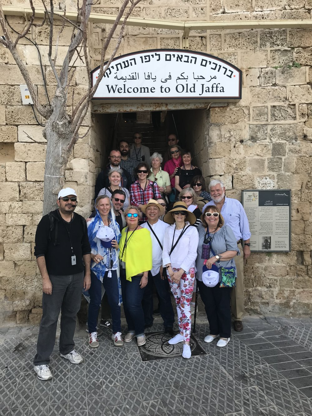 Visiting Old Jaffa