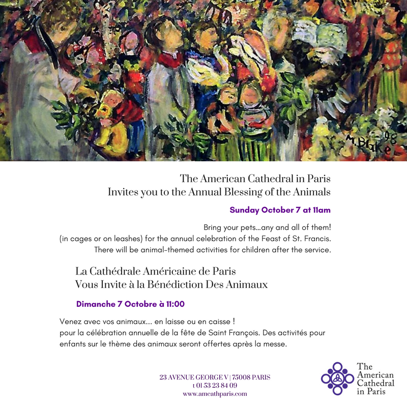 The American Cathedral in ParisInvites you to the Annual Blessing of the Animals.png
