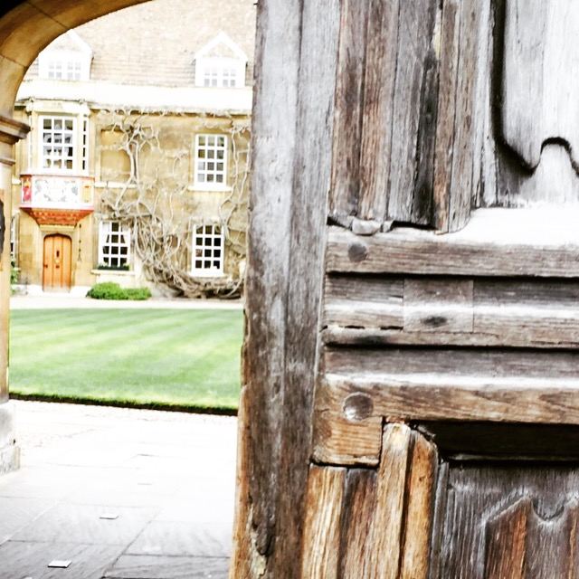 Courtyard, Cambridge