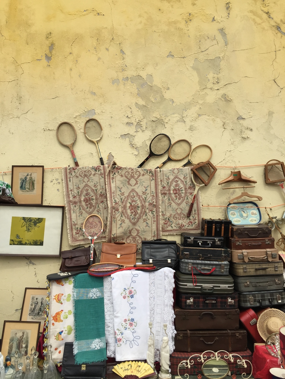 A collection (of sorts), Fiera Da Ladra, Lisbon