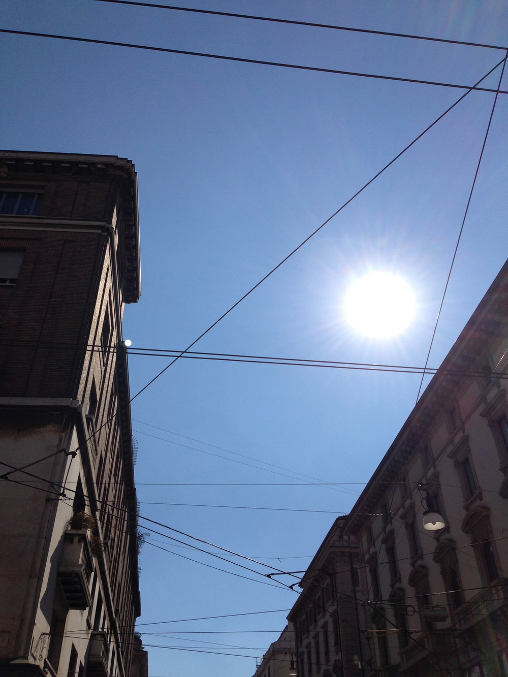 Looking up; Milan