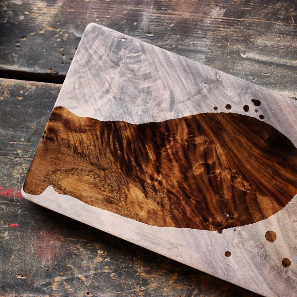 Oil on wood