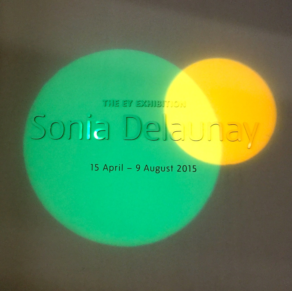 Sonia Delaunay... 'a pioneering female artist and a pioneer of abstraction'.