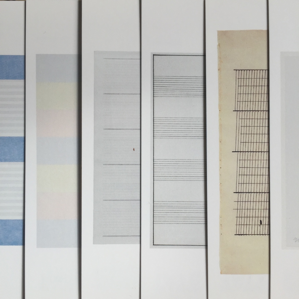 ordered Agnes Martin postcards