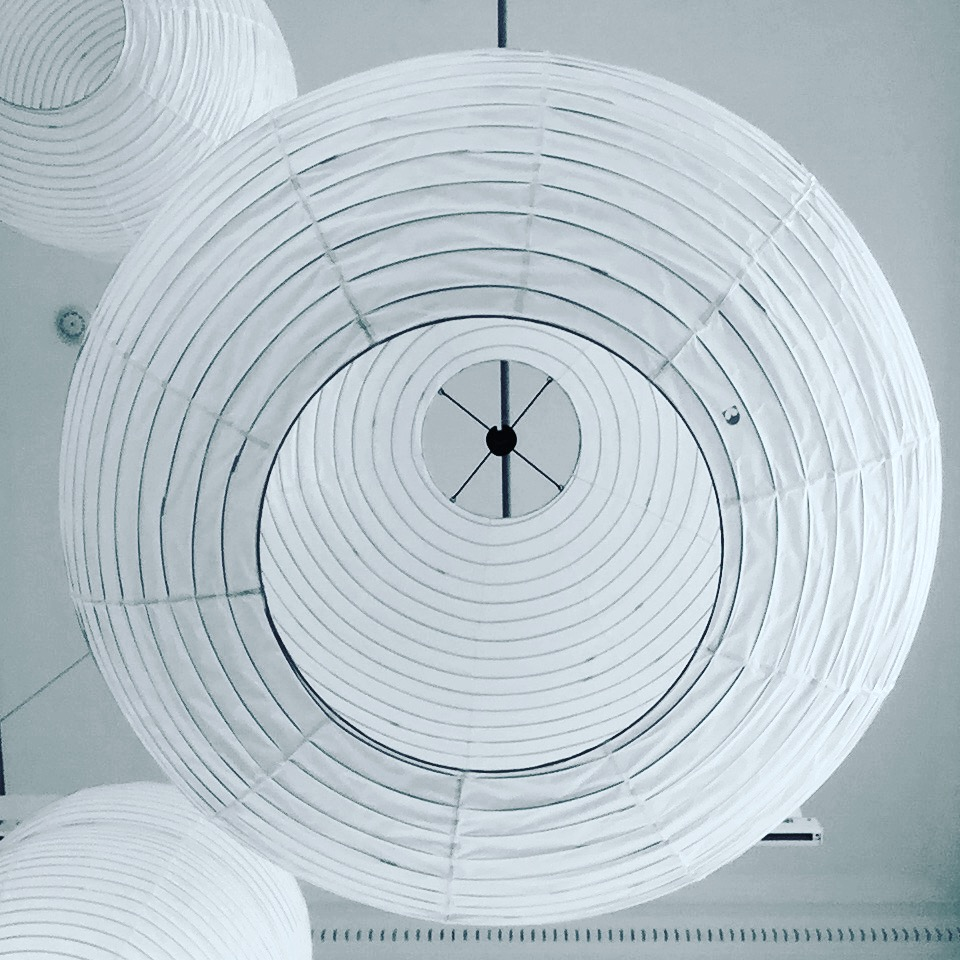 Look Up Hotaru Paper Lanterns, by Barber&Osgerby at TwentyTwentyOne