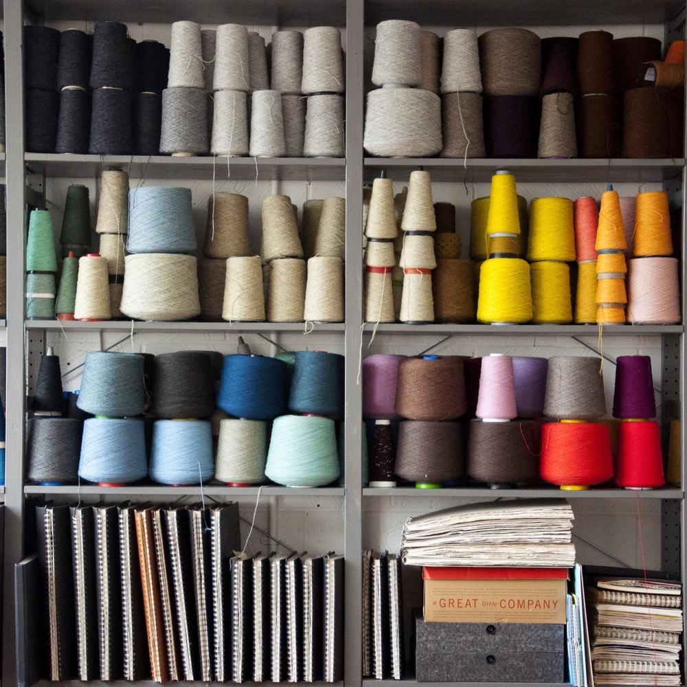 Eleanor Pritchard's studio [image credit: Kangan Arora]