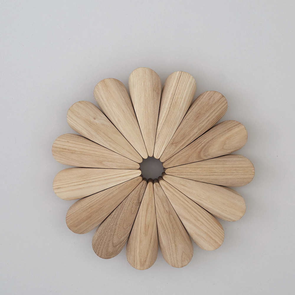 Superfolk Large Ash trivet, £70