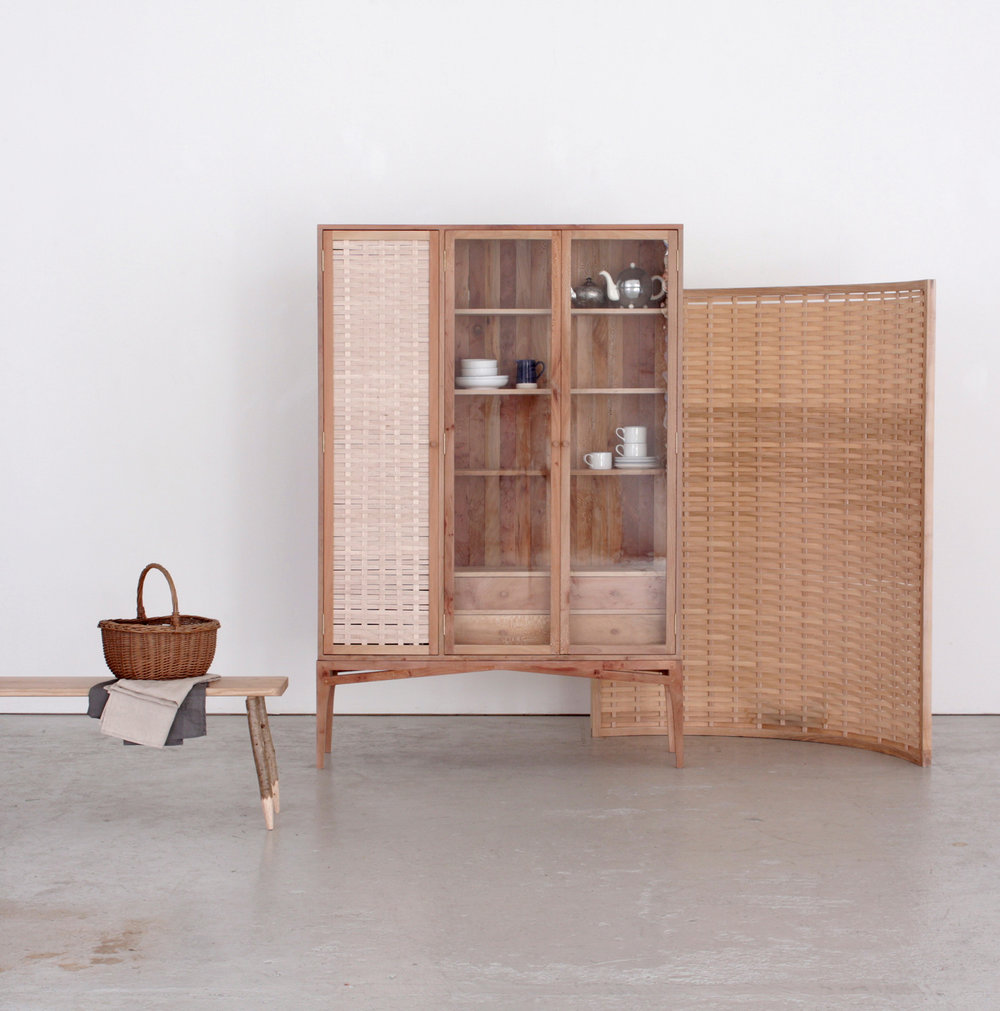 Sebastian Cox, furniture maker. Exhibiting alongside photographer Yeshen Venema at Deptford Market Yard