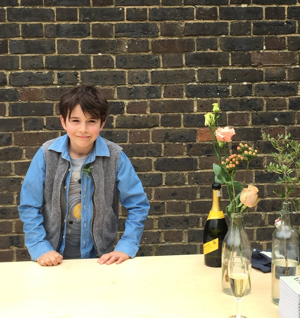 Private View Hero #2:  ...the loveliest (also underage) barman in old London town.