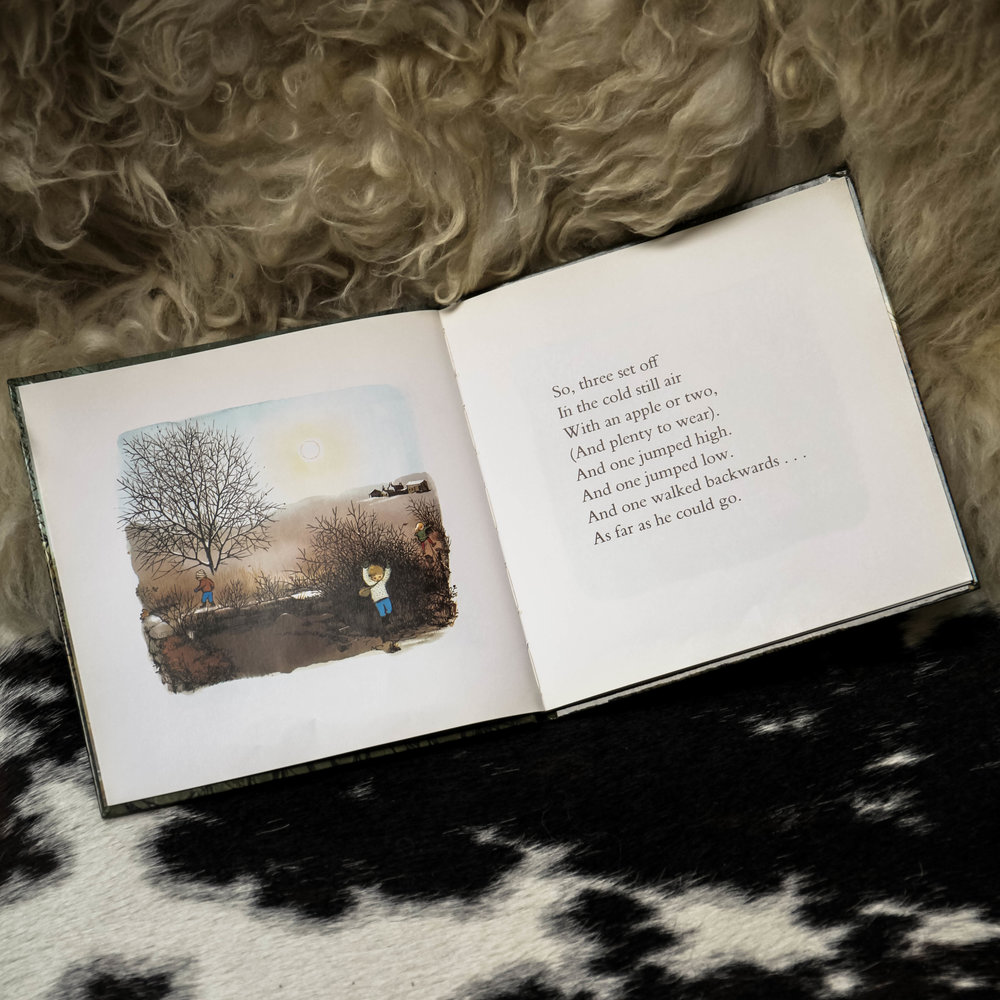 The Winter Bear,  By Ruth Craft, Illustrated by Erik Blegvad