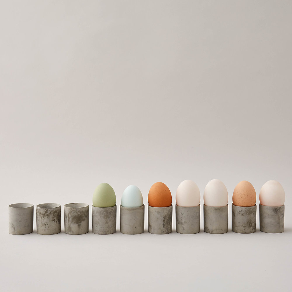 Concrete Egg Cups