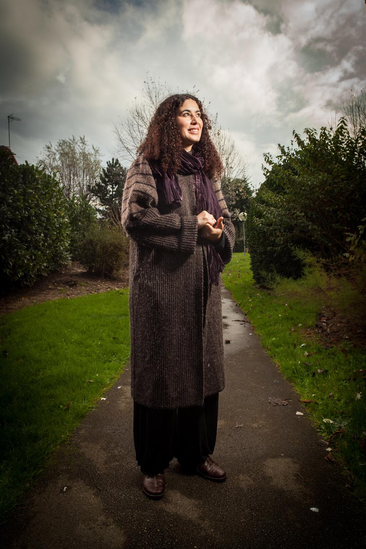 Mariam Guerey, salariée du Secours Catholique à Calais.