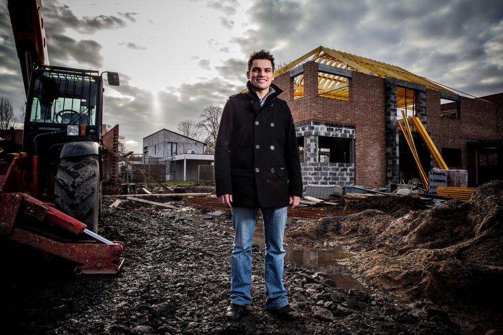 Rémy Figoureux, chef de chantier chez Baticoncept.