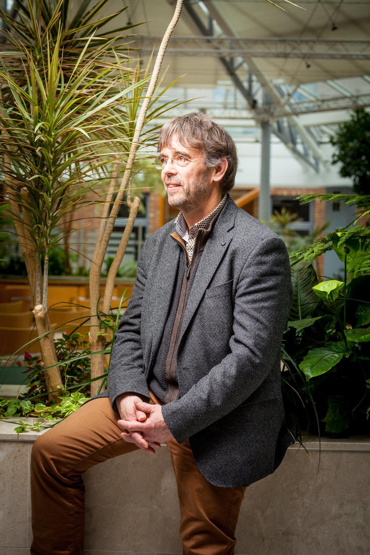 Damien Carême, maire de Grande-Synthe (59)  Portrait réalisé pour le magazine La Vie - mars 2017