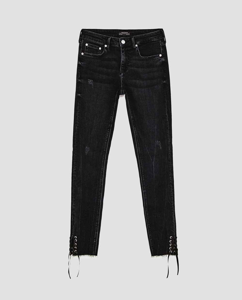 Zara Lace-Up Rostov Jeans (click on image for link)