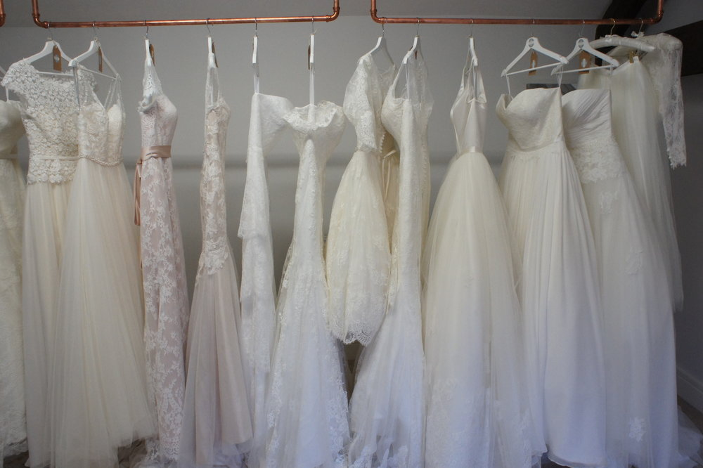 Just some of the gorgeous gowns from, KMR Bridal, Watters Woo, Louise Bentley Bridal  & much more