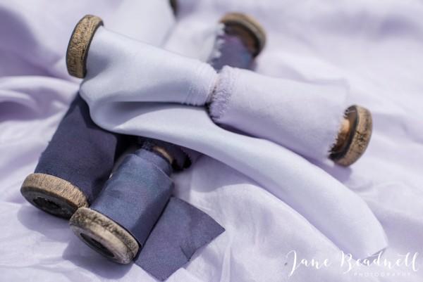 Hand dyed Silks by Pom Pom Blossom