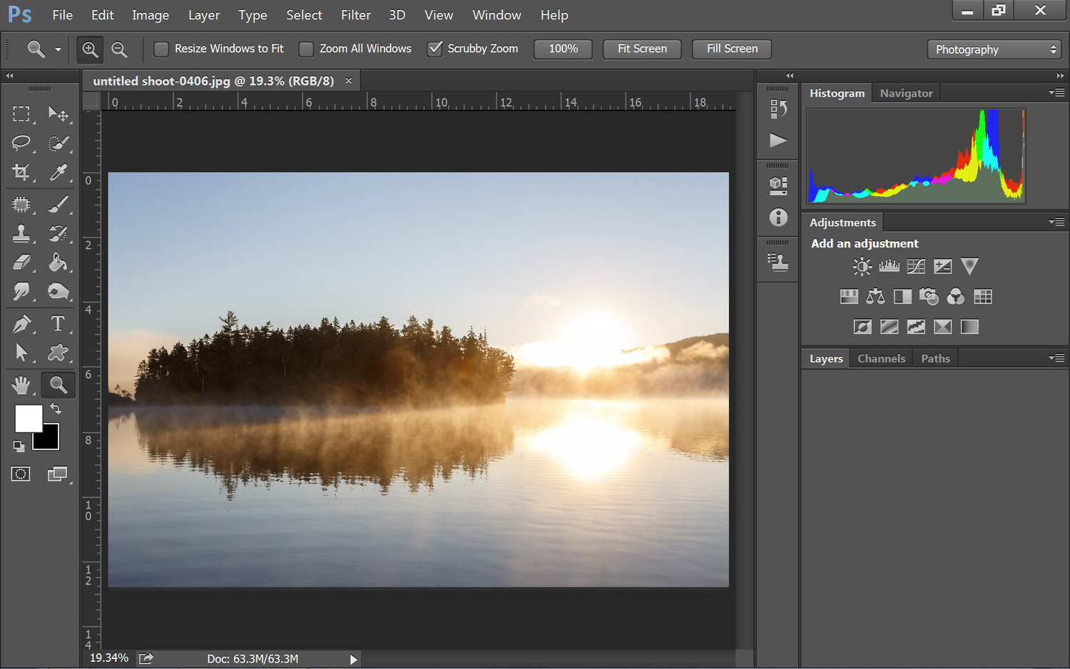 Beginners guide to photoshop cc 2015 the basic layout more than beginners guide to photoshop cc 2015 the basic layout ccuart Image collections