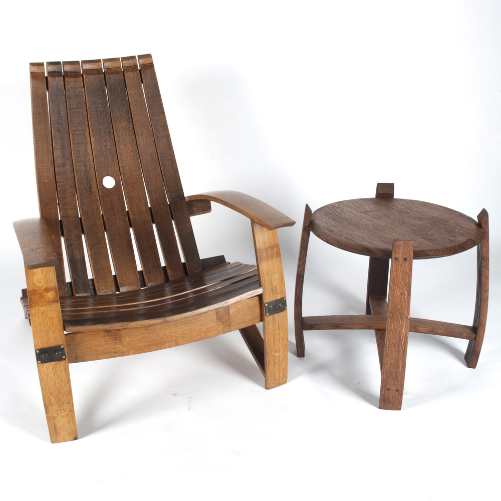 Wine Barrel Chairs And Tables