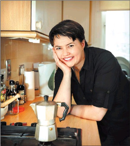 Ruth DAvidson comes out to The Herald in her Glasgow flat in 2010 (photo: Julie Howden)