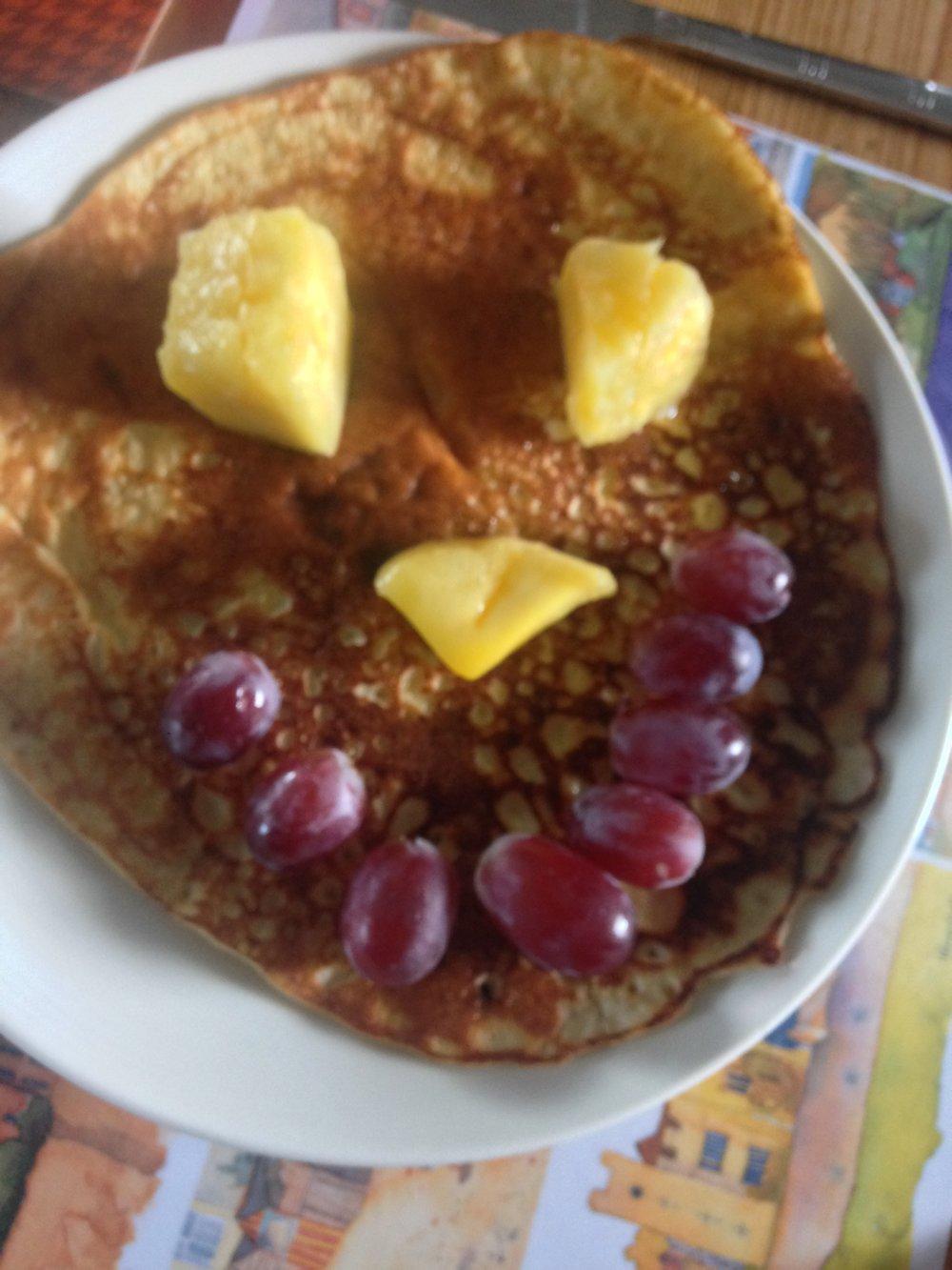 Happy pancakes.