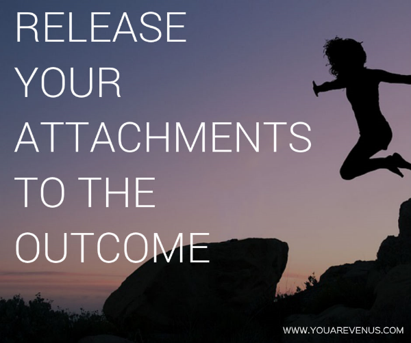 release your attachments to the outcome