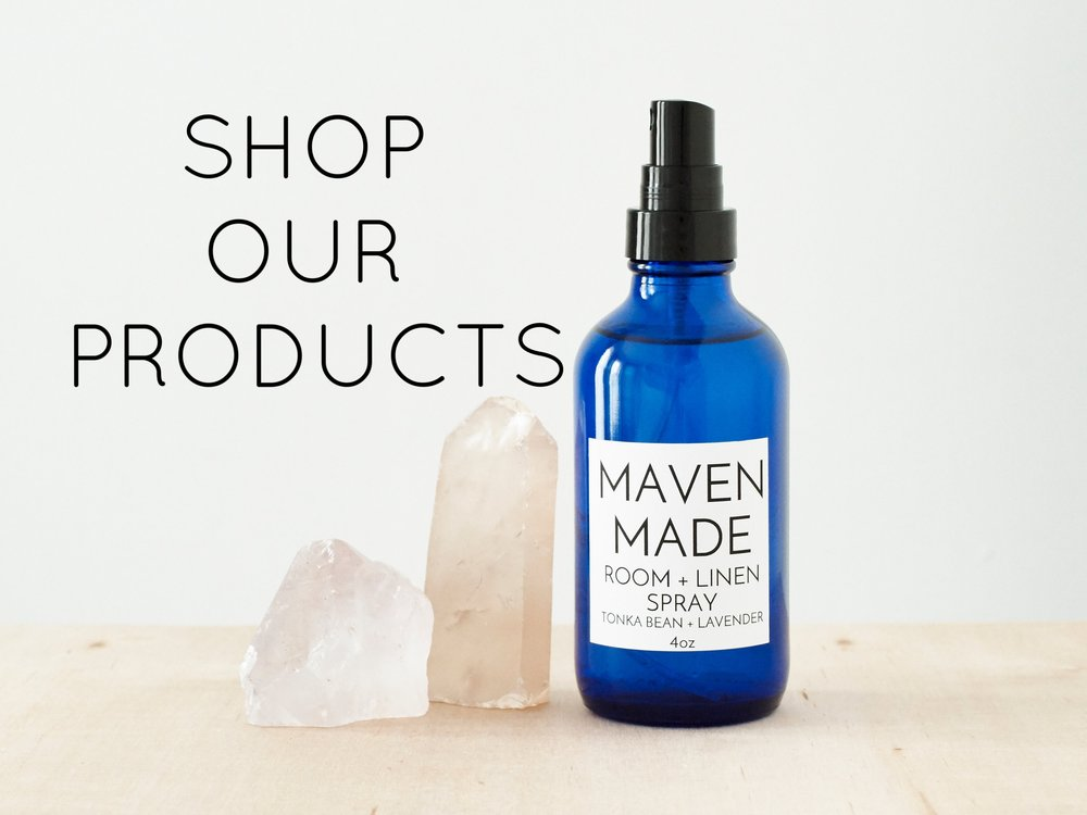 shop maven made aromatherapy product
