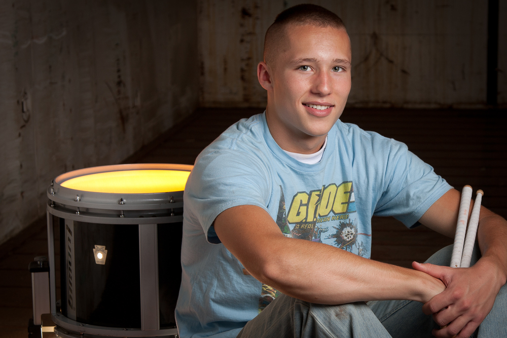 Senior Portrait Guy Drum.jpg
