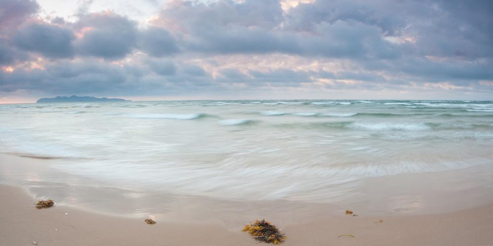 Photo de paysage aux Îles de la Madeleine -le bout du banc